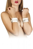 Наручники Leather Restraints Hand Cuffs, white