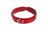 Ошейник Slave leather collar,red