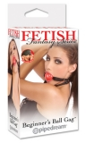 Кляп Fetish Fantasy Series Beginner`s Ball Gag Red