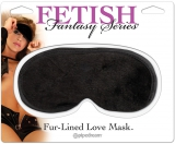 Маска SATIN LOVE MASK BLACK