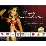 Tattoo Set - Naughty Bachelorette