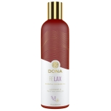 Массажное масло DONA Relax - Lavender & Tahitian Vanilla Essential Massage Oil (120 мл)