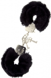 Наручники METAL HANDCUFF WITH PLUSH BLACK