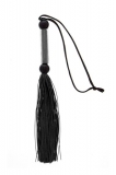 Флогер GP SILICONE FLOGGER WHIP BLACK